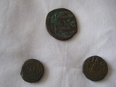 Interesting Lot of 3 Roman Bronze Coins