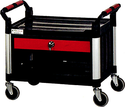 T&E Tools KT201AS Rolling Work Seat w/Drawer