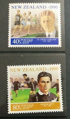 N. Zealand  1990 Health Stamps set  MUH a3