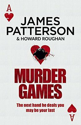 Murder Games by Patterson, James Book The Cheap Fast Free Post