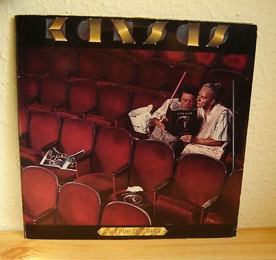 KANSAS - TWO FOR THE SHOW - 2 LP's - LIVE -