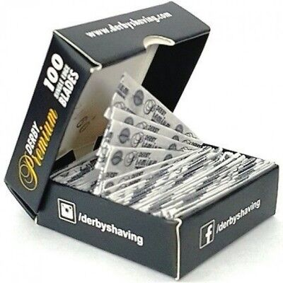 Derby Professional Premium Single Edge Razor Blades - Pro Straight Edge