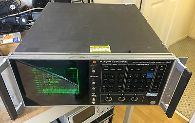 EX MOD Marconi 6500 Automatic Network Amplitude Analyzer