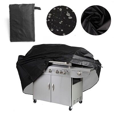 Large 4 Burner Hooded BBQ Cover Protector Barbecue Grill Waterproof 145CM /170CM