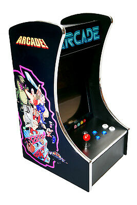 "17"" Bartop Arcade Machine - Coin Operated or Free Play"