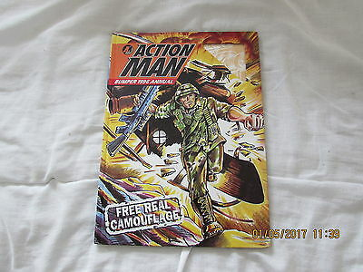 Action Man    Annual     1996  Very  Good For Age