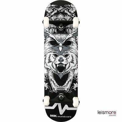 MK Complete Skateboard for Adult - Beast - Premium Maple Deck