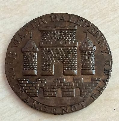 1794 High Grade Conder Token - Holloway Post Office (A134)