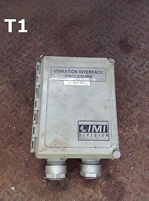 IMI Division 691B42 Vibration Interface Switch Box/Enclosure