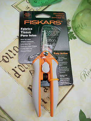 FISKARS Easy Action Micro-Tip Scissors No.5 SEALED with Lifetime Warrenty