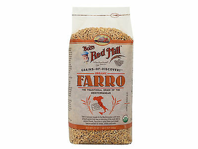 Organic Farro 4/24oz Bob's Red Mill BULK