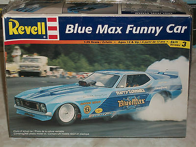 Revell 1/25 Scale Blue Max Funny Car - Factory Sealed