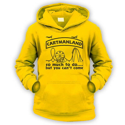 Cartmanland Kids Hoodie -x9 Colours- Gift Present Funny TV Theme Park Not Fat