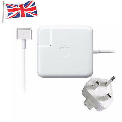 """Apple 60 W Macbook Pro 13"""" Retina MagSafe 2 Power Adapter Charger A1425 A1435"""