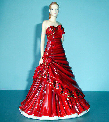 Royal Doulton GABRIELLA Pretty Ladies Red Figurine HN5560 New In Box