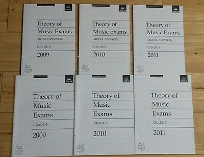 theory of music exam and model answers 2009 2010 2011 abrsm