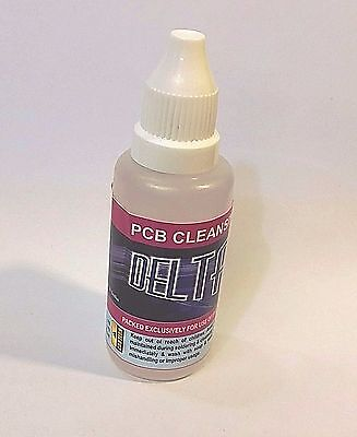 PCB touch up cleaner Flux residue remover DELTA premium brand  30ml pack