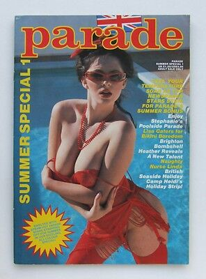Men's Vintage UK Glamour Magazine, Summer Special Number 1, 1986