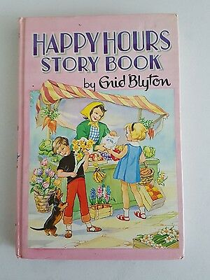 Happy Hours Story Book vintage DEAN & SONS childrens H/C book by Enid Blyton
