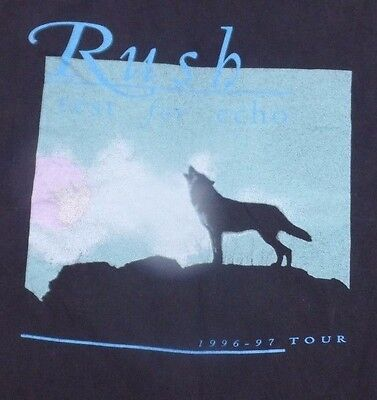 Rare Vntg Rush Test For Echo Concert Tour Shirt 69-97 No tag size