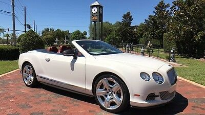 2013 Bentley Continental GT GTC Convertible 2-Door 2013 Bentley