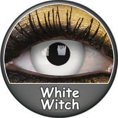 Lentilles blanches White Witch Phantasee (journalière)