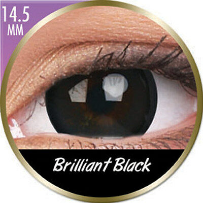 Lentilles big eyes brilliant black phantasee (mensuelles) Phantasee