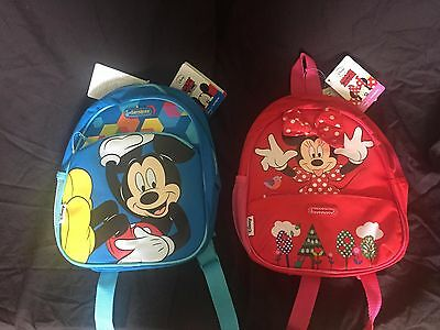 School Bags Mickey & Minnie Mouse