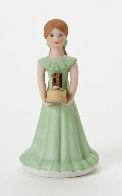 Enesco- Growing Up Girls - Brunette Age 11 Figurine, E9535