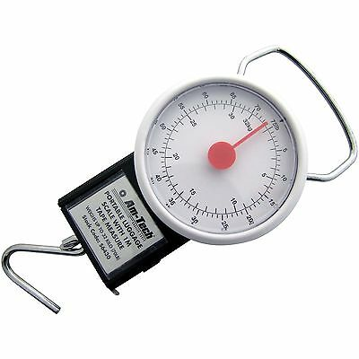 Luggage SCALE & Tape Measure Weigh Luggage Bags For Travel With Hanging Loop