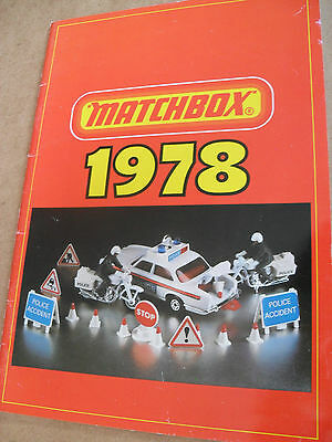 Matchbox Trade Toy Catalogue 1978 Uk Edition Excellent Condition For Age