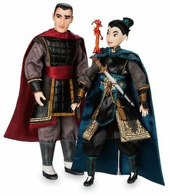 D23 Expo 2017 Disney Designer Collection Limited Edition Mulan Doll Set - Le 523