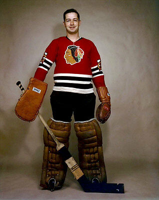 Glenn Hall Chicago Black Hawks 8x10 Photo