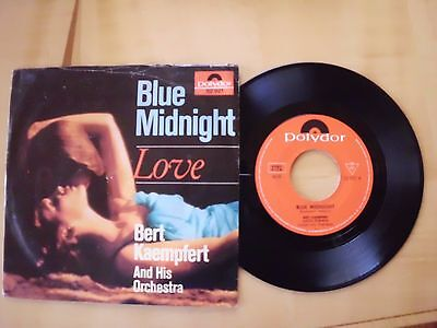 Bert Kaempfert and his Orchestra - Blue midnight/Love