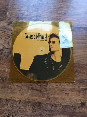 ❤️RARE ITALIAN PICTURE DISC LP❤️ Live In The U.S.A. '92-George Michael (Wham!)