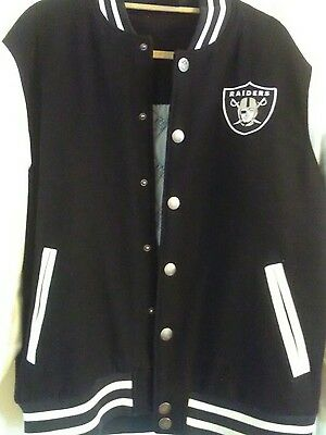la raiders jacket