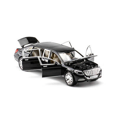 1:24 Mercedes Maybach S600 Limousine Diecast Metal Model Car New in Box Black