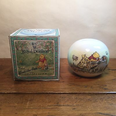 Royal Doulton Disney Winnie The Pooh Collection Money Box (Boxed)