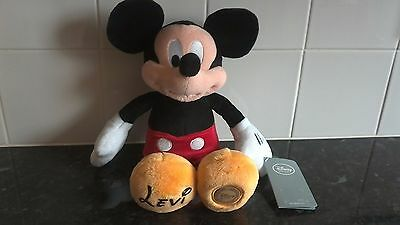 BRAND NEW Disney Store Mickey Mouse soft toy
