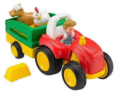 Tracteur musical Little People marque Fisher Price