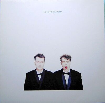 Pet Shop Boys – Actually 33 1/3 Lp (1987)