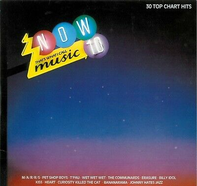 Record – Now 10 (Now That'S What I Call Music) 33 1/3 Lp (A)