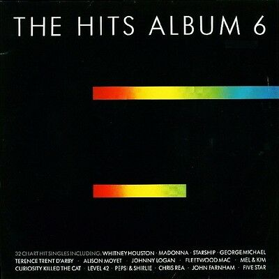 Record – The Hits Album 6 (1987) 33 1/3 Lp