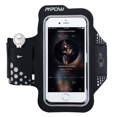 Mpow Sweatproof Sports Gym Running Armband for iPhone6s/6 Samsung Galaxy S7 S6