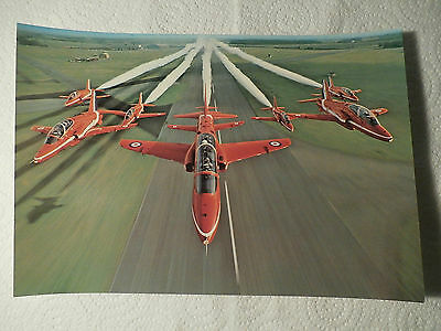 @ Postcard - Red Arrows Formation