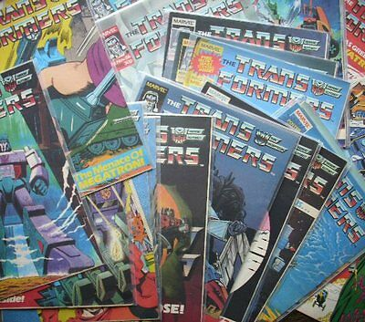 Transformers UK Marvel Comics x5 chance to complete your collection