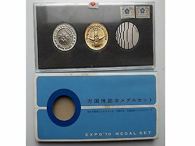 Expo 1970 Three Coin Display Pack