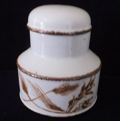 """Stonhenge>Midwinter>""""Wild Oats"""" Sugar/lid>Creamer>Great Condition,Great country."""
