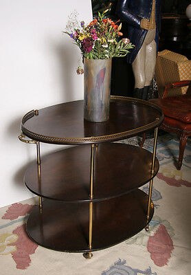 Bristol Co George III Tarkington Style Three Tier Table
