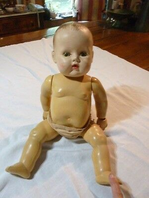 "Vintage American Character  Baby ""Character Doll  18"" Jointed - For Parts"